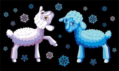 Новогодние Каким будет 2017 год Козы (Овцы)